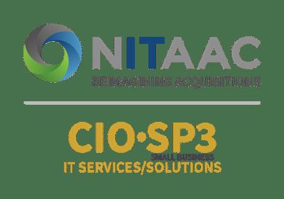 NITAAC and CIO-SP3 Logos